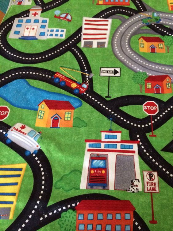 Dalyn Rugs Check out this car play mat my mother in law made Would be