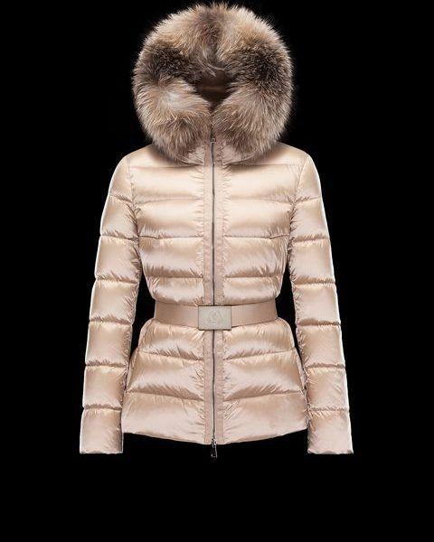 MONCLER TATIE Short Down Jacket – UK Ladies – Beige. Cheap Moncler