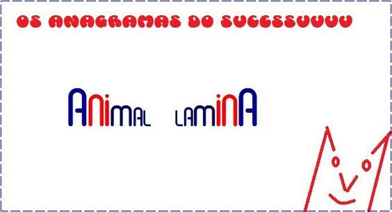 O primeiro dos anagramas do sucesso