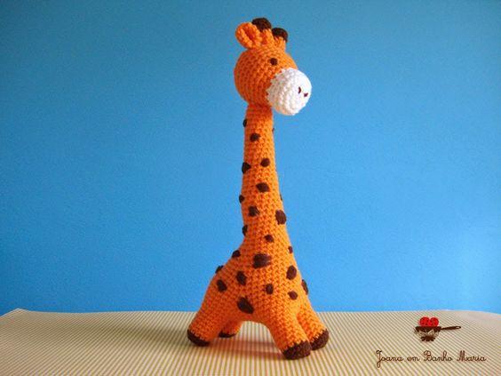 orange giraffe