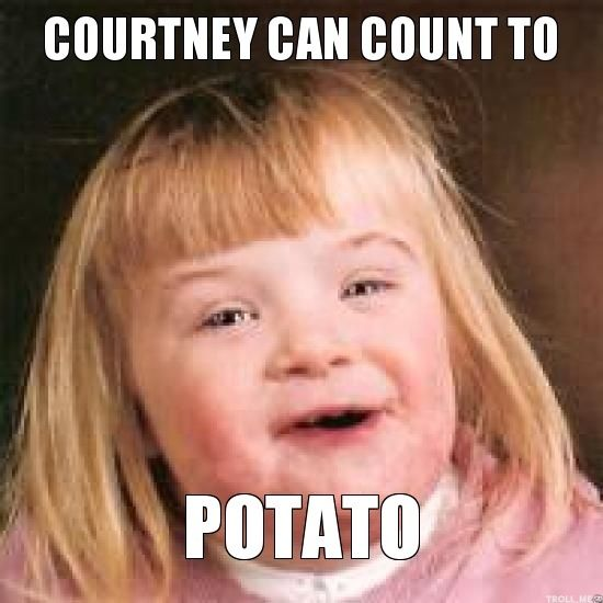 9a95b8b59ba8ae7c6884ee4d68f1a89d funny girls so funny courtney can count to potato flerpty floopin pinterest count,Courtney Memes