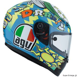 AGV GP-Tech Limited Edition Wake Up Helmet (http://www.motochanic.com/agv-gp-tech-limited-edition-wake-up-helmet/)