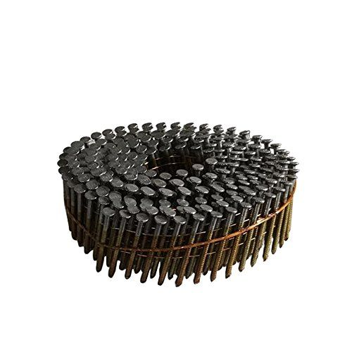 Meite Cnr112s 15 Degree Full Roundhead 112 083 Wire Coil Ring Shank Coil Siding Nails For Pallets 4200 Pcs Pack For More Information V Coil Ring Coil Shank