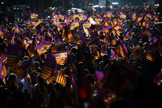 La rúa del Barcelona en directo | Calles de Barcelona