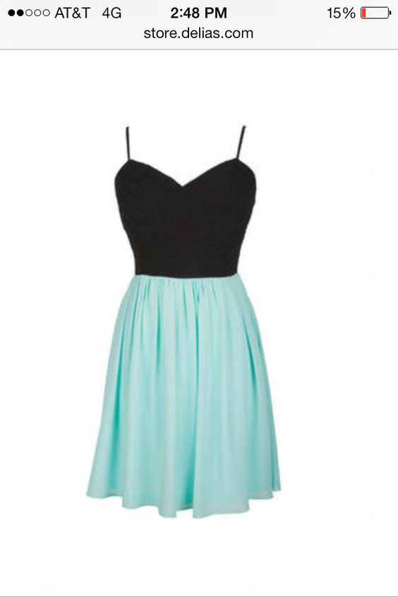 Cute semi formal dress! Or any kind of dress depends on occasion ...