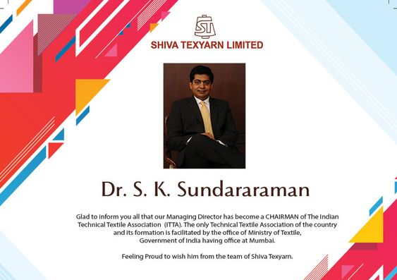 Shiva Texyarn launches Anti-Viral Fabric