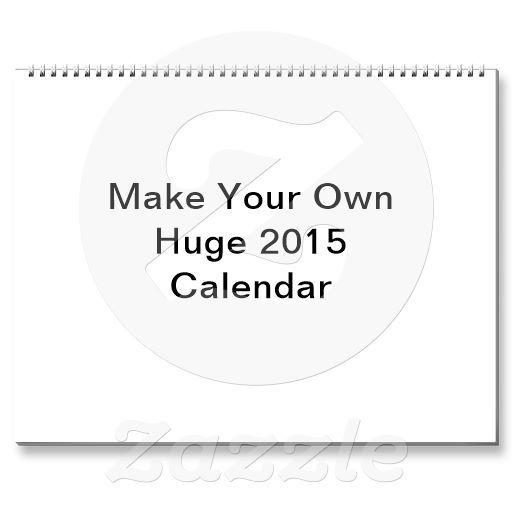 11 best custom calendars 2015 images on pinterest 2016 calendar