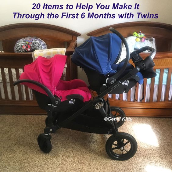 20 Items to Help You Make it Through the First 6 Months with Twins (Created by a Twin Momma of 6 Month Old Twins)