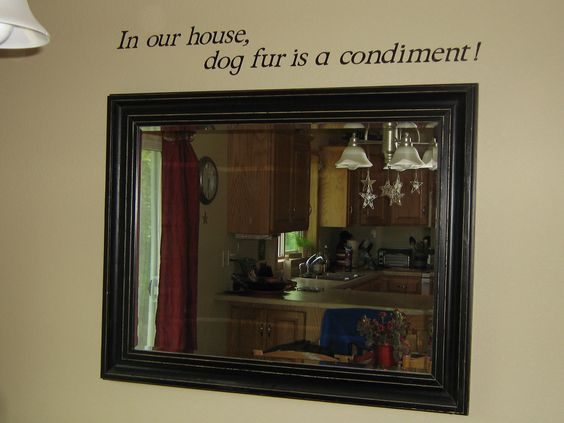 Quote I had in my dining room!