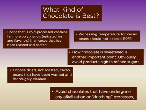 What kind of chocolate is best?