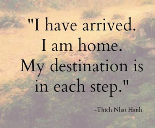 Our practice of stability and peace in this very moment is the best support we can offer to Thich Nhat Hahn. Let us all take refuge in our practice