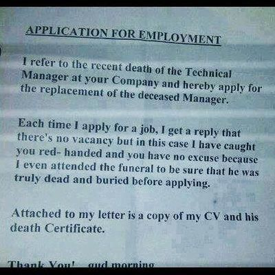 Best application for employment D rofl Pinterest Humor - application for employment