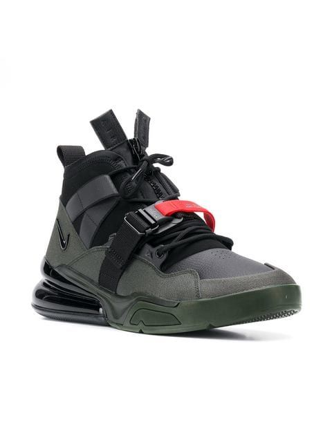 Nike Masculino Air Force 270 Tênis De Basquete | eBay