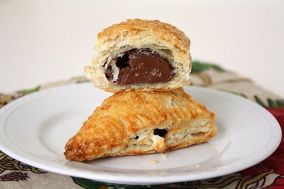 Nutella Marshmallow Turnovers by Tracey's Culinary Adventures, a whole bunch of Nutella recipes