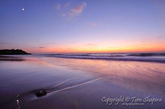 Sunset in Palmachim / Photographer: Tom Shapira