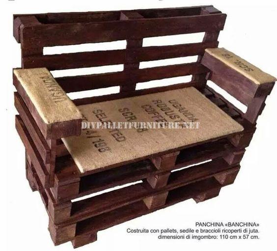 muebles de palets como hacer un banco con palets paso por