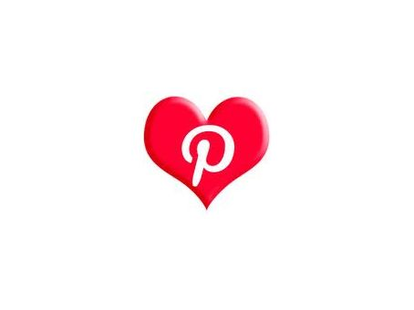 Pinterest icon heart by Autumn's Gifts #AutumnsGifts