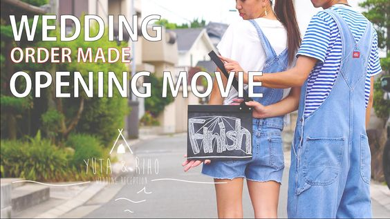 【WEDDING OPENING MOVIE】ウエディングオープニングムービー結婚式