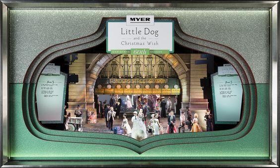 Window 5 - Little Dog travels past Melbourne's iconic landmark - Flinders Street Station