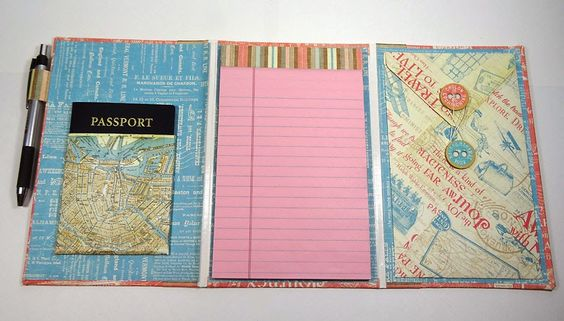 Annette's Creative Journey: Come Away With Me Travel Folio inside.