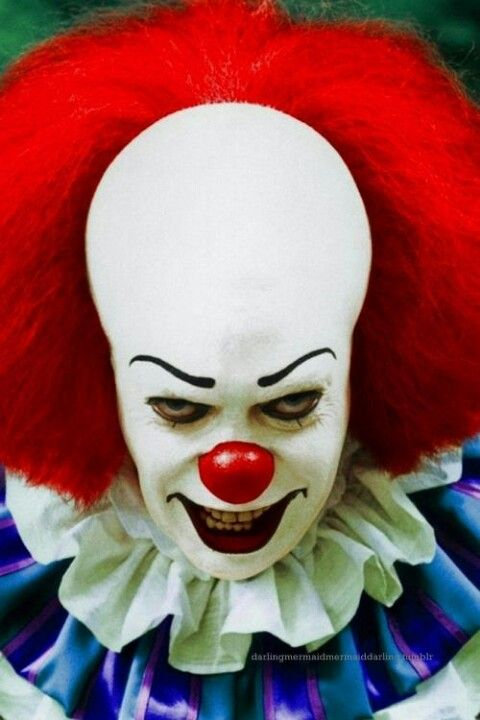 Pennywise [a.k.a. It] (from Stephen King's It, 1990). Portrayed by Tim Curry