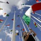 Flaggen der EU-Staaten (© AP)