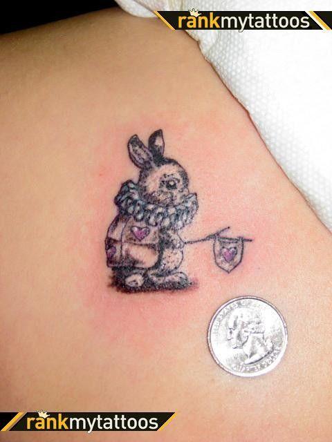 Tatouage lapin alice tatoo pinterest - Tatouage chat alice au pays des merveilles ...