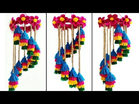 Decoration Best Out Of Waste Material Craft