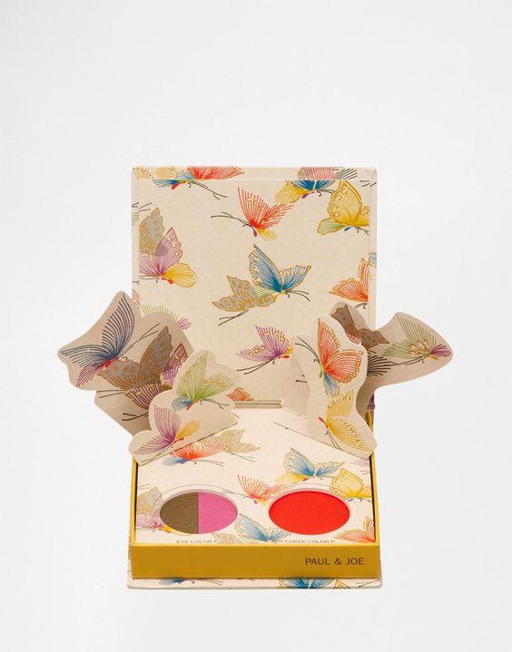 Paul Paul & Joe Limited Edition Pop-Up Make Up Palette - Floral Nectar