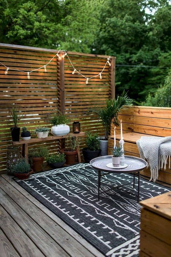 27 Enclosed Patio Ideas For Your Outdoor Space 2020 A Nest With A Yard Backyard Seating Small Backyard Patio Patio Design