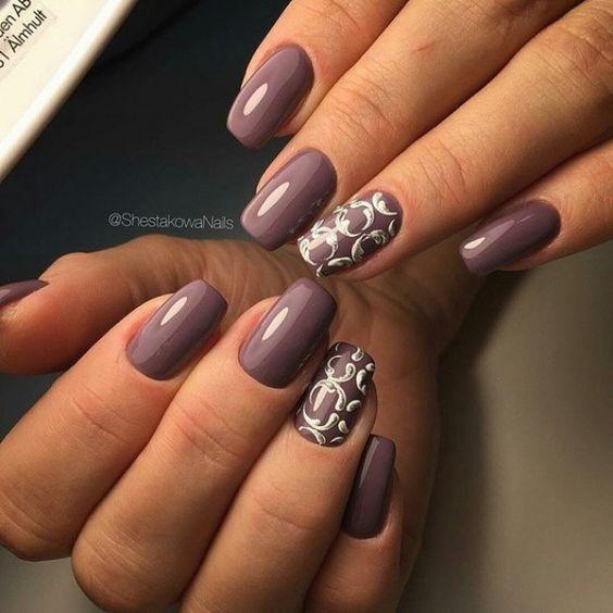 Маникюр №2863 - самые красивые фото дизайна ногтей. Идеи рисунков на ногтях на любой вкус. Будь самой привлекательной!