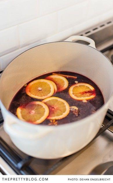 Warm, winter warming tasty Glühwein! Photographer: Dehan Engelbrecht Photography | Styling : Nicola Pretorius | Wine: Theuniskraal Wines
