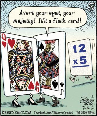 Bizarro cartoon (July 5, 2012)