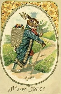 Peter Rabbit's Egg Delivery service