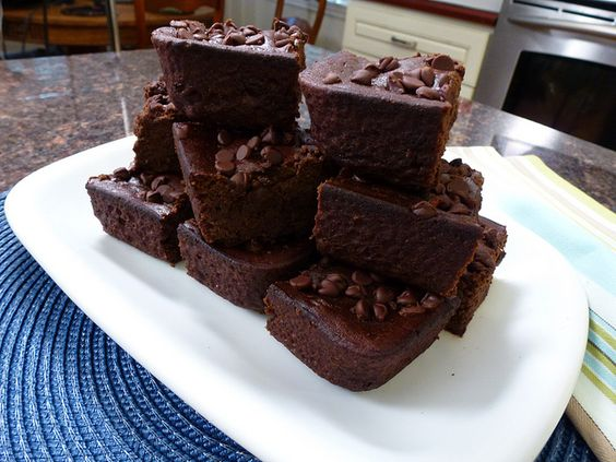 Vegan (and Gluten Free) Black bean brownies by mealmakeovermoms, I just used Ener-G Egg replacer