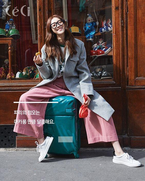 Lee Sung Kyung - Ceci Magazine November Issue '15 - Korean Magazine Lovers