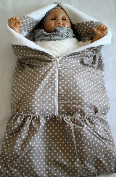 Babydecken - Fußfunktionssack-Sommer - ein Designerstück von Zaarik-Design bei DaWanda