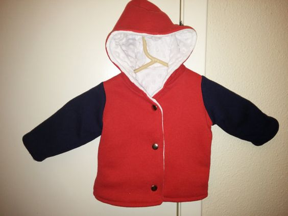 University of Houston Hoodie Jacket/Coat by LilTotCreations #FutureCoog