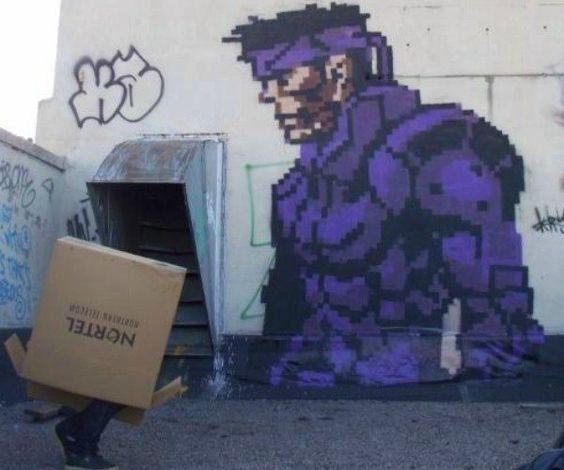 20 graffitis inspirados em vídeo games  http://www.nerdingow.com/2014/08/20-graffitis-inspirados-em-video-games.html