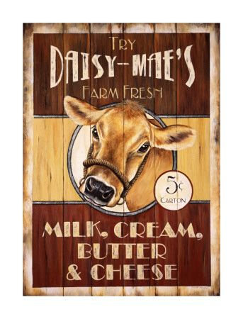 Jersey Cows Milk And Vintage Ads On Pinterest