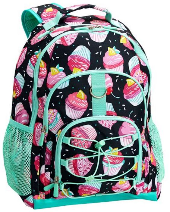 Black and Pink Cupcake Backpack