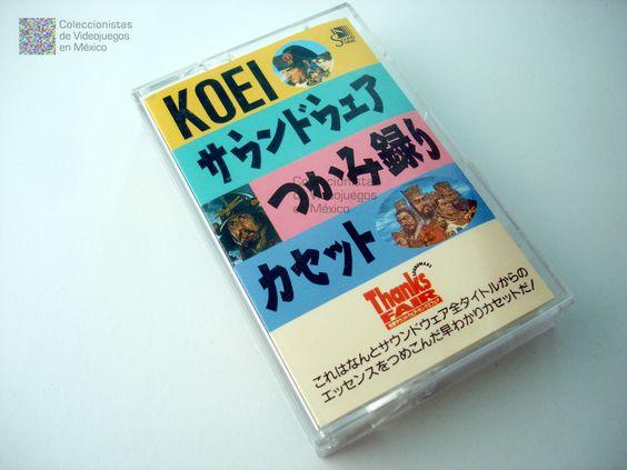 KOEI Game Music Sampler 1989, este material que se escucho en el capítulo 6 de nuestro Podcast.