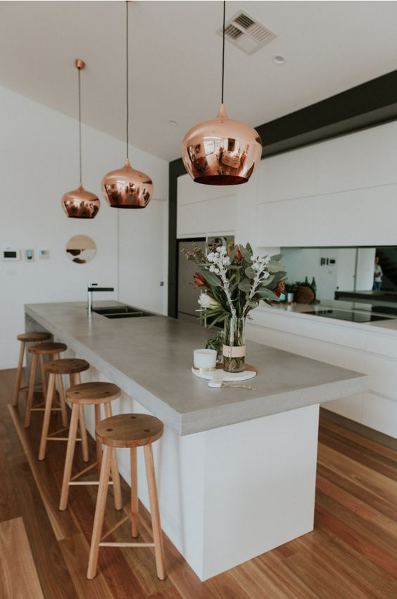 contemporary finishes and warmth