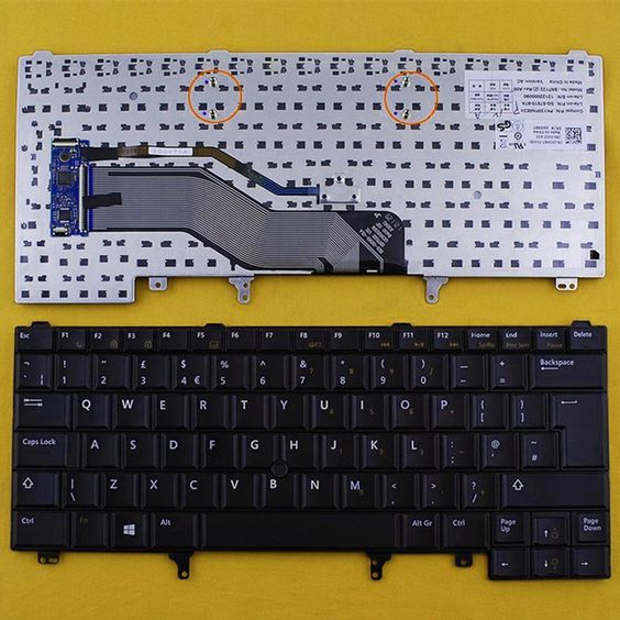 $7.76 (Buy here: http://appdeal.ru/5vto ) New United Kingdom UK laptop Replacement keyboard for DELL Latitude E6420 E5420 E6220 E6320 E6430 BLACK(With Point stick,Win8) for just $7.76