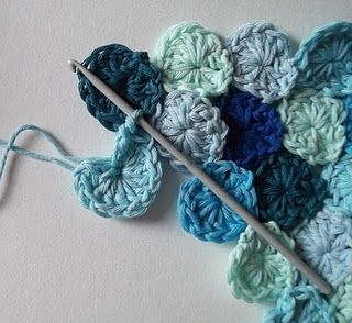 How to Crochet Sea Pennies ~ ooo cool