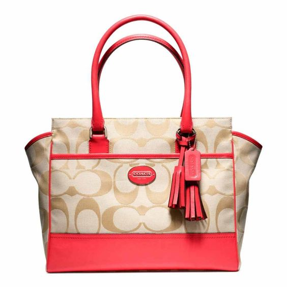 new legacy signature medium candace carryall By Coach