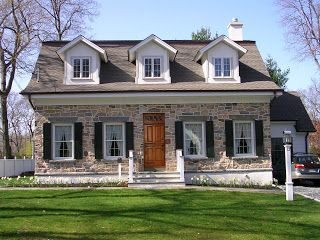Dutch Colonial Traditional And Home On Pinterest