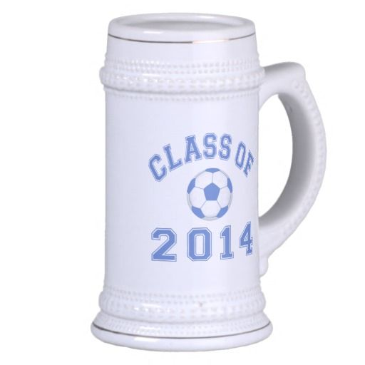 Class Of 2014 Soccer - Blue 2 Coffee Mug
