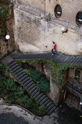 Sorrento, Italy - first time in Italy, animandome para bajar esas escaleras.