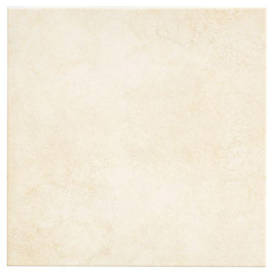 """Tuiles de porcelaine, 12"""" x 12"""", 18/boîte, blanc"""
